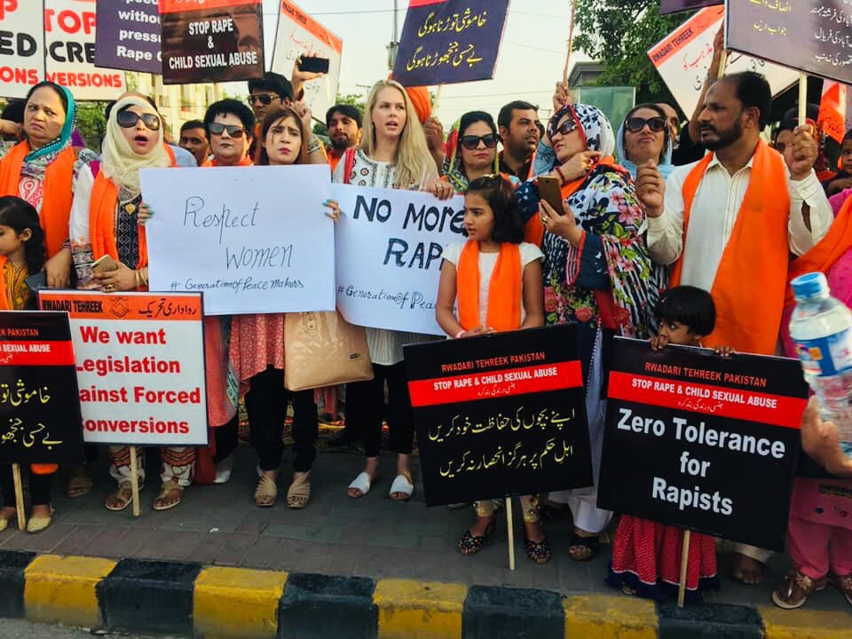 Stop Rape and Forcibly Conversion in Pakistan